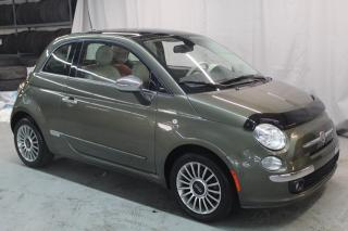 Used 2012 Fiat 500 Lounge (TOIT OUVRANT, SUPER PROPRE !!) for sale in St-Constant, QC