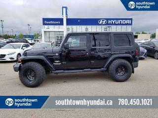 Used 2013 Jeep Wrangler Unlimited SAHARA/4WD/LEATHER/NAV/BLUETOOTH for sale in Edmonton, AB