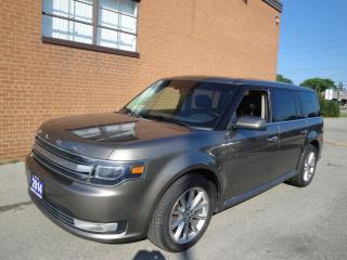 Used 2014 Ford Flex Limited 1 OWNER NO ACCIDENTS FULL SERVICE RECORDS for sale in Oakville, ON