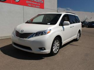 Used 2017 Toyota Sienna XLE/AWD/ONE OWNER/LEATHER/POWER DOORS for sale in Edmonton, AB