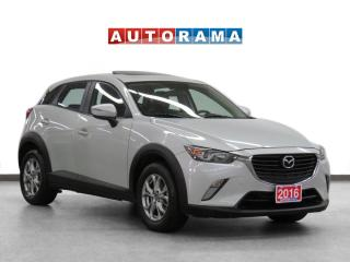 Used 2016 Mazda CX-3 GS 4WD Leather Sunroof Backup Cam for sale in Toronto, ON