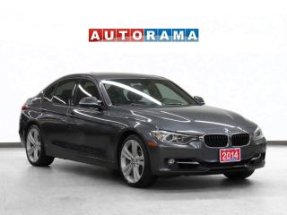 Used 2014 BMW 328xi xDrive Navigation Leather Sunroof Backup Cam for sale in Toronto, ON