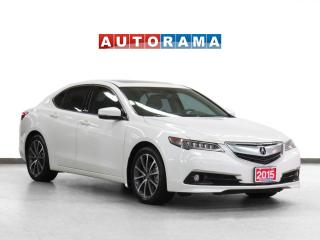 Used 2015 Acura TLX AWD Navigation Leather Sunroof Backup Cam for sale in Toronto, ON