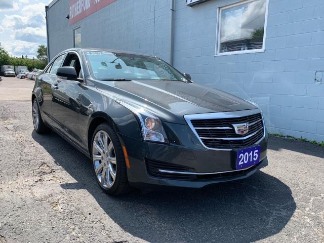 2015 Cadillac ATS Luxury AWD SUNROOF ACCIDENT FREE CLEAN CAR FAX