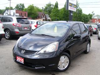 Used 2010 Honda Fit LX,Auto,A/C,Alloys,Gas Saver,Tinted,Certified for sale in Kitchener, ON