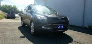Used 2015 Ford Escape SE LEATHER LOW KN CHROME RIMS ACCIDENT FREE for sale in Brampton, ON