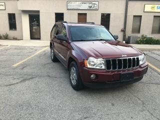 Used 2007 Jeep Grand Cherokee Limited, NAV, DVD, BACK UP CAMERA, NO ACCIDENTS !! for sale in Burlington, ON