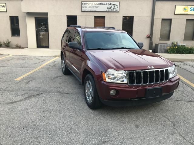 2007 Jeep Grand Cherokee Limited, NAV, DVD, BACK UP CAMERA, NO ACCIDENTS !!