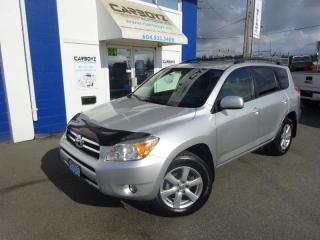 Used 2008 Toyota RAV4 Limited 4WD, Leather, Sunroof, Heated Seats for sale in Langley, BC