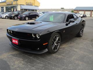 Used 2016 Dodge Challenger Scat Pack Shaker 6.4L Hemi 6Speed Manual for sale in Brantford, ON