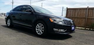Used 2013 Volkswagen Passat COMFORTLINE DIESEL LEATHER SUNROOF ACCIDENT FREE for sale in Brampton, ON
