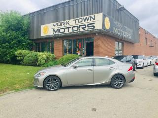 Used 2016 Lexus IS 300 F Sport 3/RedInt/Nav/BackCam/SunRoof for sale in North York, ON