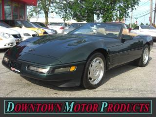 Used 1994 Chevrolet Corvette Convertible for sale in London, ON
