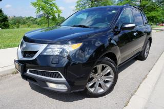 Used 2010 Acura MDX ELITE - IMMACULATE / DVD / LOADED / 7 PASSENGER for sale in Etobicoke, ON