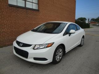Used 2012 Honda Civic LX/NO ACCIDENTS/ONE OWNER/BLUETOOTH/ for sale in Oakville, ON