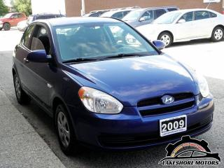 Used 2009 Hyundai Accent GL    CERTIFIED    MANUAL for sale in Waterloo, ON