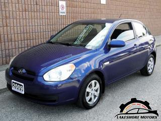 Used 2009 Hyundai Accent GL || CERTIFIED || MANUAL | LOW KMS for sale in Waterloo, ON