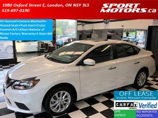 Used 2016 Nissan Sentra SV+Camera+Sunroof+Bluetooth+Heated Seats+Smart Key for sale in London, ON