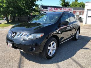 Used 2010 Nissan Murano Comes Certified/AWD/Backup Cam/Heated Seats for sale in Scarborough, ON
