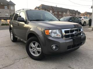 Used 2010 Ford Escape Accident Free|One Owner|Alloys Wheels|Low Mileage for sale in Burlington, ON