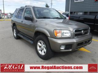 Used 2003 Nissan Pathfinder SE 4D Utility 4WD for sale in Calgary, AB