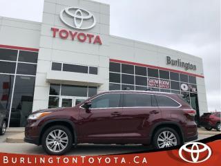 Used 2016 Toyota Highlander XLE LOADED for sale in Burlington, ON