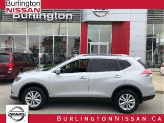 Used 2015 Nissan Rogue SV, ALL WHEEL DRIVE, MOONROOF, 1 OWNER ! for sale in Burlington, ON