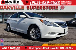 Used 2013 Hyundai Sonata GLS | SUNROOF | HEATED SEATS | BLUETOOTH for sale in Oakville, ON