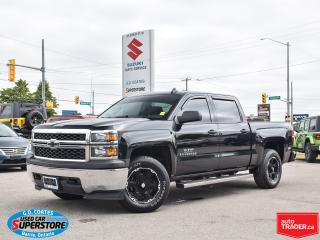 Used 2015 Chevrolet Silverado 1500 CREW CAB 4x4 for sale in Barrie, ON