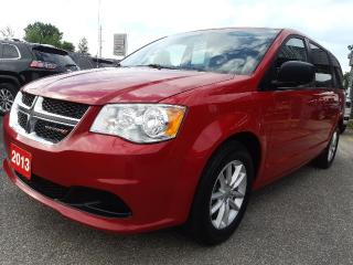 Used 2013 Dodge Grand Caravan SXT for sale in Bracebridge, ON