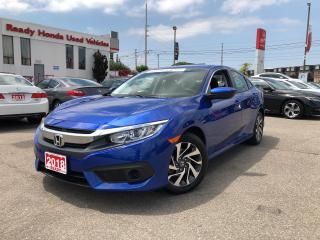 Used 2018 Honda Civic Sedan SE - Smart Key - Alloy Wheels - Rear Camera for sale in Mississauga, ON
