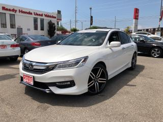 Used 2016 Honda Accord Sedan Touring - Navigation - Leather - Sunroof for sale in Mississauga, ON