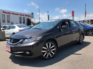 Used 2014 Honda Civic Sedan Touring - Navigation - Leather - Sunroof for sale in Mississauga, ON