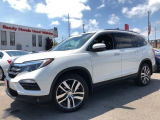Used 2017 Honda Pilot Touring - Navigation - Leather - Panoramic Roof for sale in Mississauga, ON