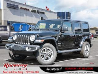New 2019 Jeep Wrangler Unlimited Sahara 4X4 for sale in Etobicoke, ON