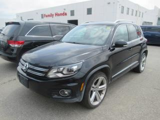 Used 2016 Volkswagen Tiguan Highline, FULLY LOADED! for sale in Brampton, ON