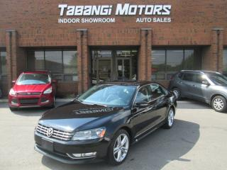 Used 2014 Volkswagen Passat TDI | HIGHLINE | NO ACCIDENTS | SPORT | NAVIGATION | REARCAM for sale in Mississauga, ON