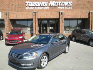 Used 2013 Volkswagen Passat TDI | NO ACCIDENTS | LEATHER | SUNROOF | HEATED SEATS | BT for sale in Mississauga, ON