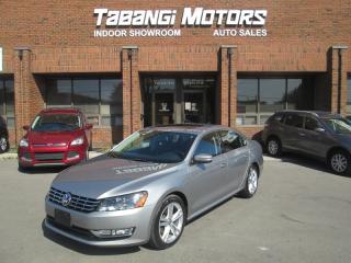 Used 2013 Volkswagen Passat TDI | HIGHLINE | NAVIGATION | LEATHER | SUNROOF | BT for sale in Mississauga, ON