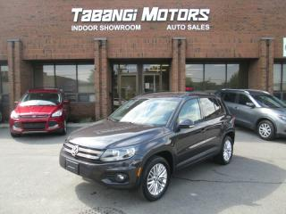 Used 2016 Volkswagen Tiguan SPECIAL EDITION | AWD | REAR CAM | HEATED SEATS | B\T for sale in Mississauga, ON