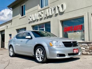 Used 2012 Dodge Avenger 4dr Sdn SXT for sale in Hamilton, ON