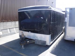 Used 2007 Continental Cargo 28 Foot Enclosed Cargo Trailer ramp gate for sale in Burnaby, BC