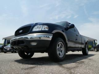 Used 2002 Ford F-150 XLT- AS IS- CLEAN BODY- FLOWMASTER EXHAUST- CUSTOM WHEELS for sale in Essex, ON