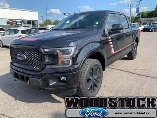 New 2019 Ford F-150 Lariat   - Sunroof for sale in Woodstock, ON