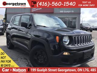 Used 2015 Jeep Renegade Sport | 6 SPEED | ONLY 59,902KMS | 1.4L | for sale in Georgetown, ON