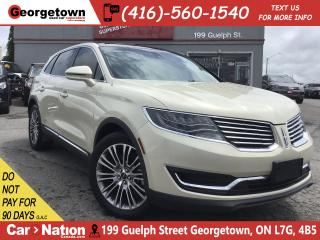 Used 2016 Lincoln MKX Reserve | NAVI | PANO ROOF | AWD | BACK UP CAM | for sale in Georgetown, ON