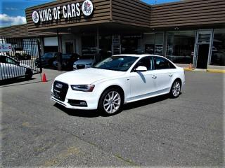 Used 2016 Audi A4 PROGRESSIV PLUS / S-LINE for sale in Langley, BC