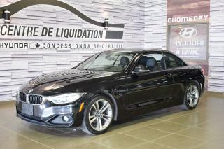 Used 2014 BMW 4 Series 428i+CONVERTIBLE+GPS+CUIR+MAGS for sale in Laval, QC
