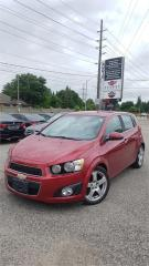 Used 2012 Chevrolet Sonic LTZ for sale in Cambridge, ON