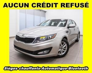 Used 2013 Kia Optima LX AUTOMATIQUE BLUETOOTH SIÈGES CHAUFF *BAS KM* for sale in St-Jérôme, QC